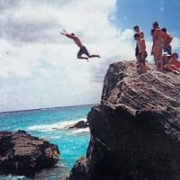 Falling off the Rock 2010 #Bermuda Cliff Diving @BurntHouseprod