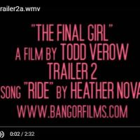 """Final Girl"" Trailer ft. Heather Nova @Nova_Says"
