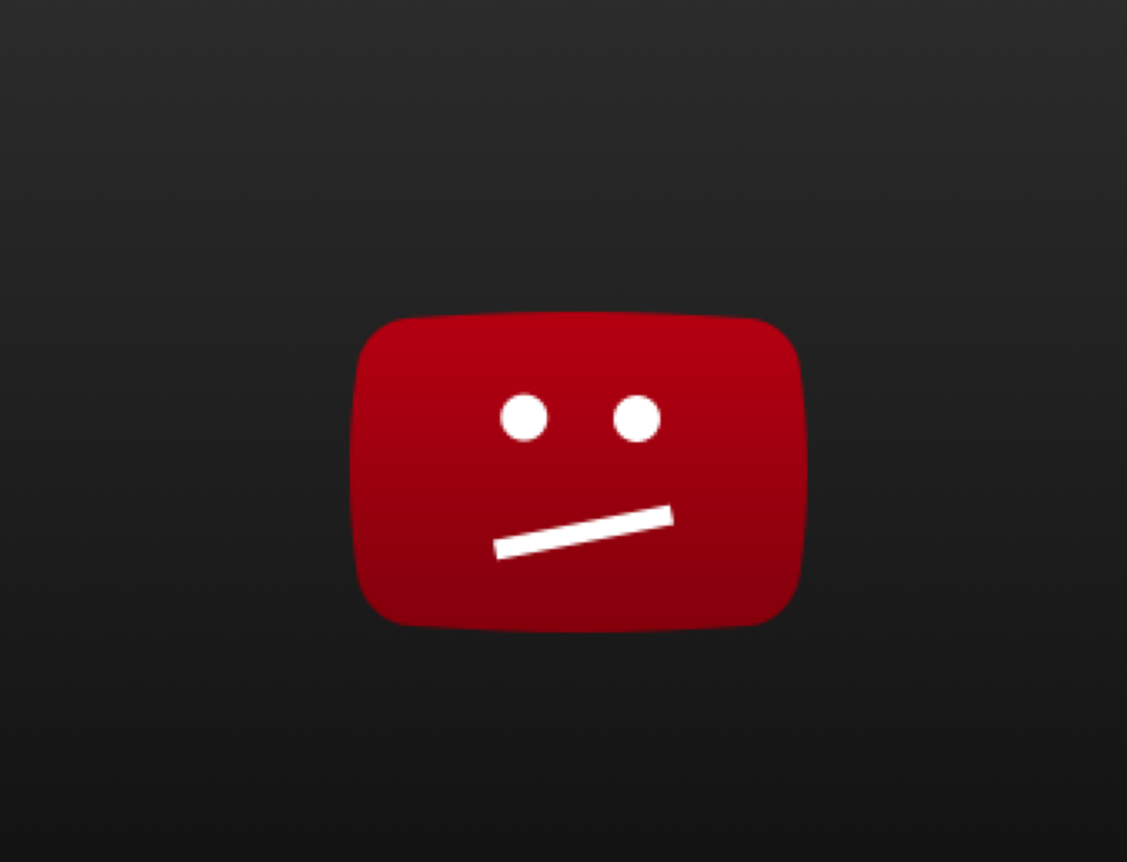 youtube video no longer available