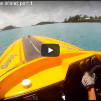 #Bermuda Round the Island Powerboat Race 2011 - On Board #HelmetCam