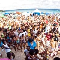 @Chewsticks #Beachfest Emancipation Celebration 2012 @ #HorseshoeBay #Bermuda