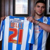 Nahki Wells 1st Game w/ @htafcdotcom vs @MillwallFC Jan 11, 2014 @nahkiwells