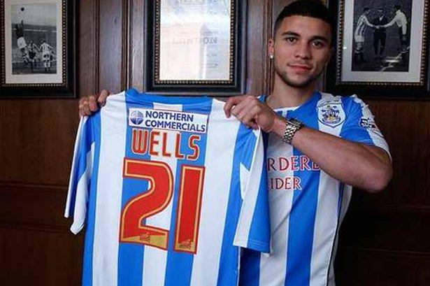 Nahki arrives huddersfield
