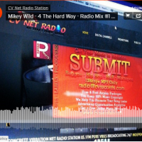 @MikeyWild  - 4 The Hard Way - Radio Mix #1 by CV Digital - @RoyanPublishing