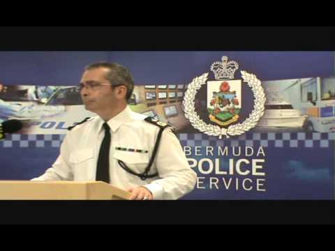 2013 Year End Crime Statistics – #Bermuda Police Service Press Conference @bermudapolice