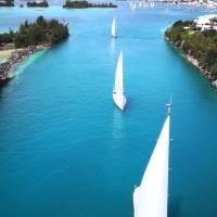 ARC Europe 2014 - World Cruising Club #Bermuda Departure 2014 @ARCrally @BermudaAerial