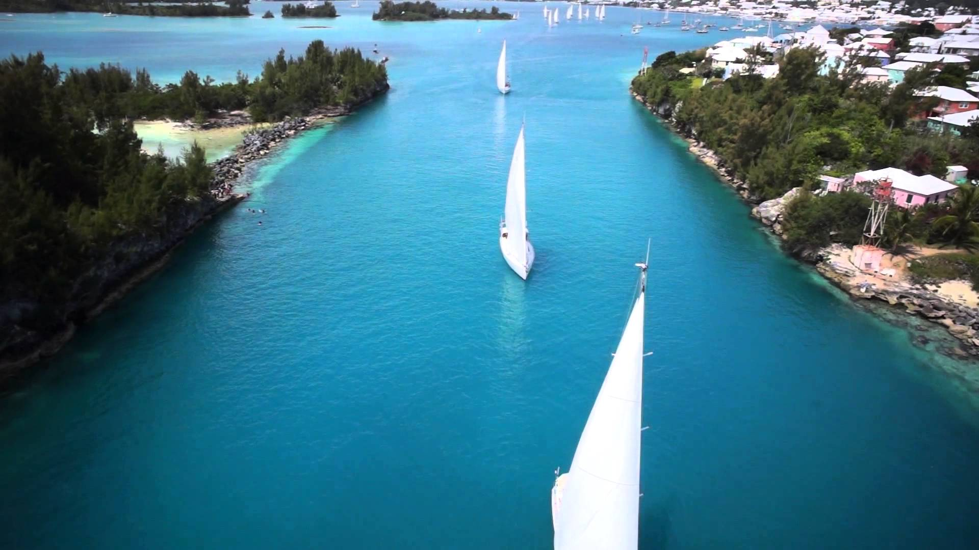 ARC Europe 2014 – World Cruising Club #Bermuda Departure 2014 @ARCrally @BermudaAerial