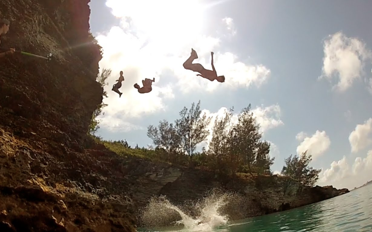 Bermuda – 'Another' Summer in Paradise … Cliff Jumping & more @imaginedragons
