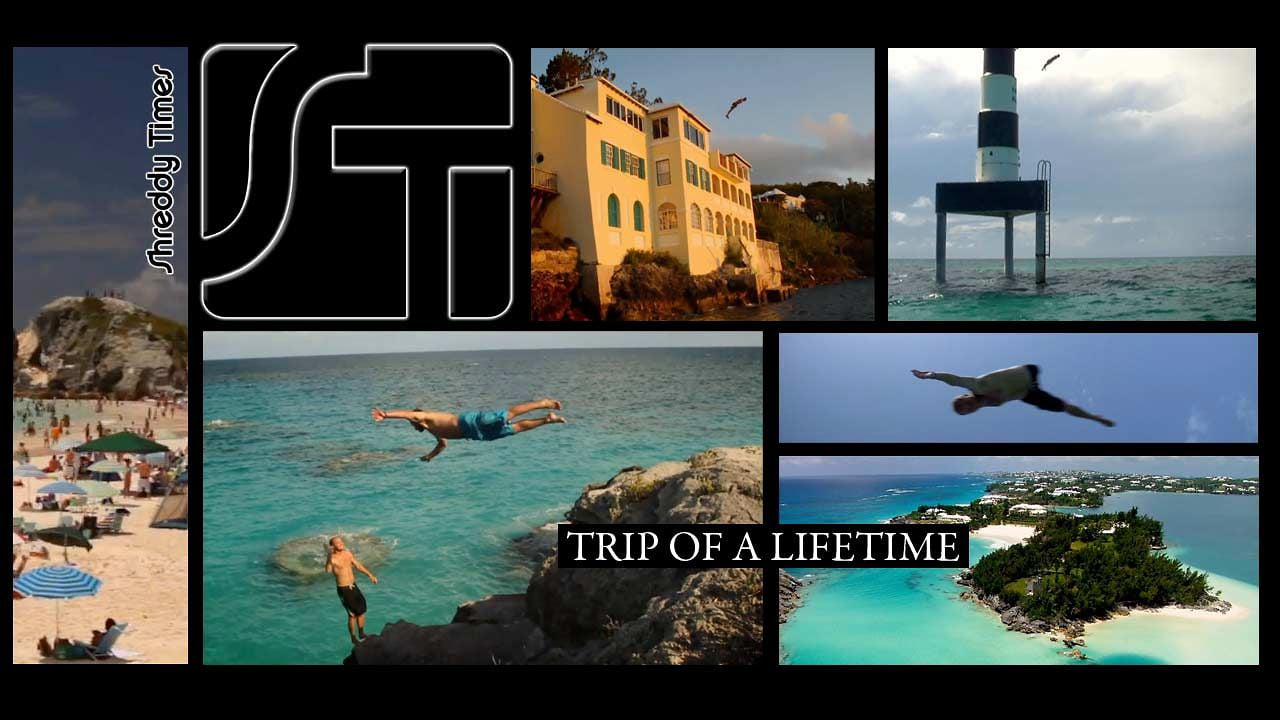 #Bermuda Cliff Jumping 2011 – Trip Of A Lifetime @ShreddyTimes @burnthouseprod