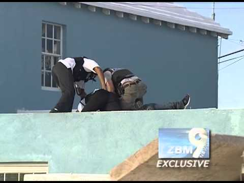 Bermuda Rooftop Suicide Threat & Police Stand-Off (May 4, 2013)
