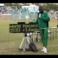 #CariftaGames #Bermuda 2004 - Usain Bolt 200m 19.93 secs