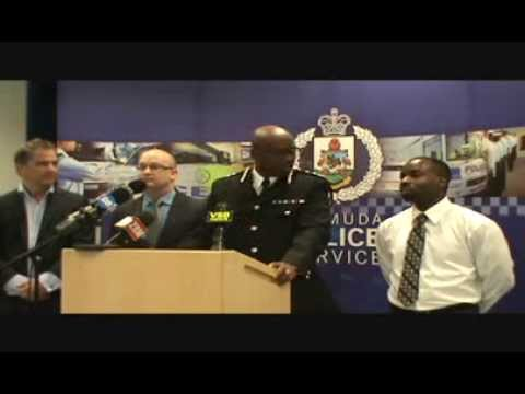 #CCTV Expansion Plans #Bermuda Police Press Conference @bermudapolice