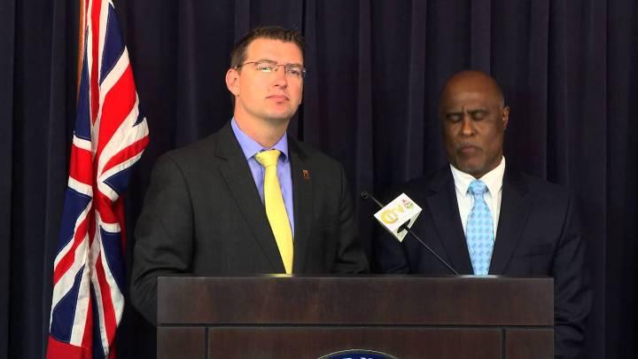 CITV Press Talk – Minister Fahy & Chris Furbert Press Conference