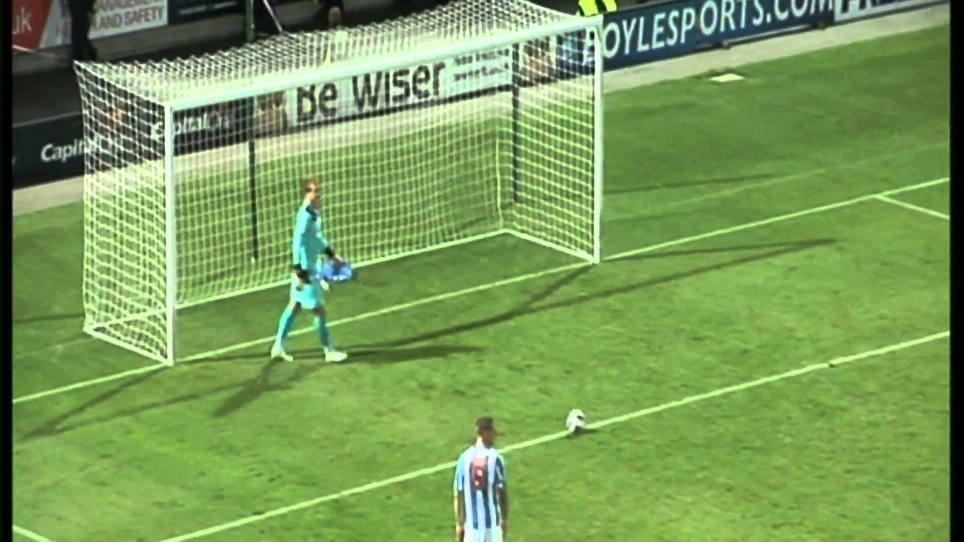 GOAL: Nahki Wells – Huddersfield Town vs Bradford City @nahkiwells