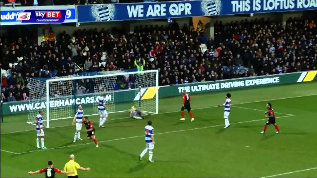 Nahki Wells – 2 FOR 2 !! w/ Huddersfield Town @ Queens Park Rangers
