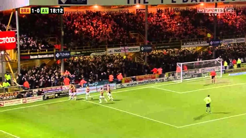 Nahki Wells – Bradford City 3 vs Aston Villa 1 (Capital One Cup Semi-Finals)