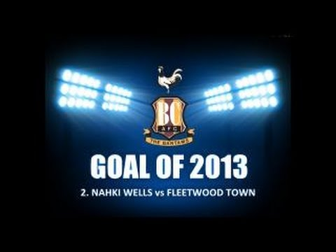 @NahkiWells #GOALOFTHEYEAR #2 # 4 #8 @officialbantams