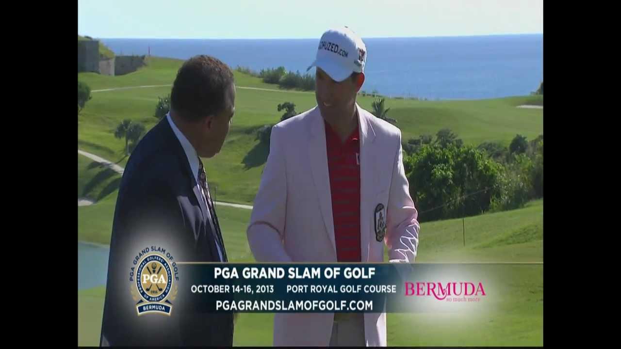 @PGAGrandSlam of Golf #Bermuda 2013