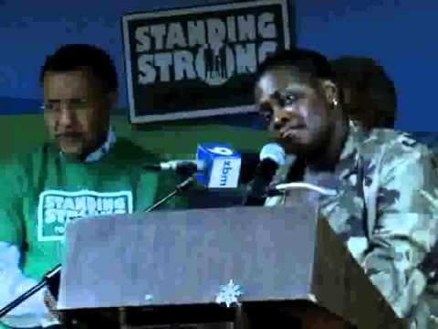 Premier Paula Cox Election Announcement @ PLP Rally 2012
