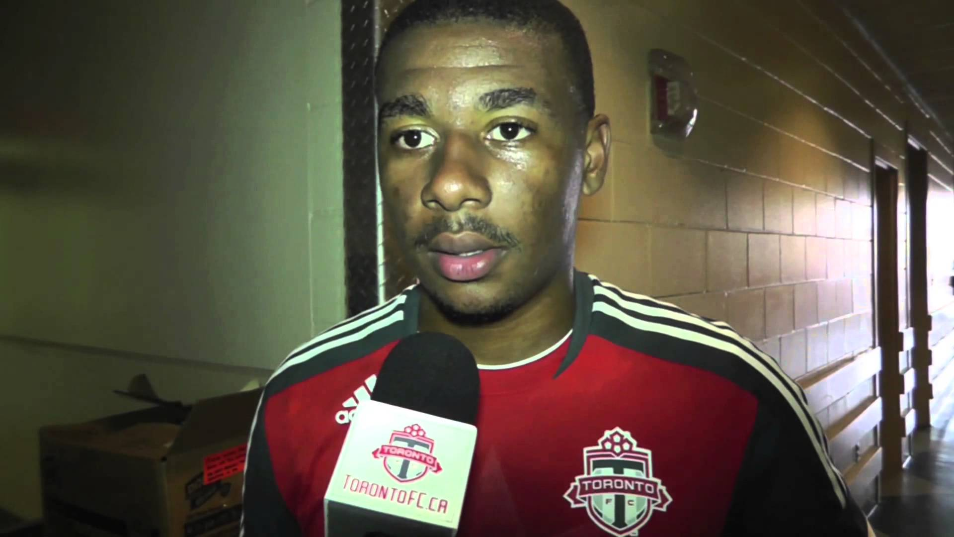 Reggie Lambe – Preseason Game #1 interview