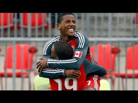Reggie Lambe -Toronto FC vs Chicago Fire (April 21, 2012) @ReggieNaldo