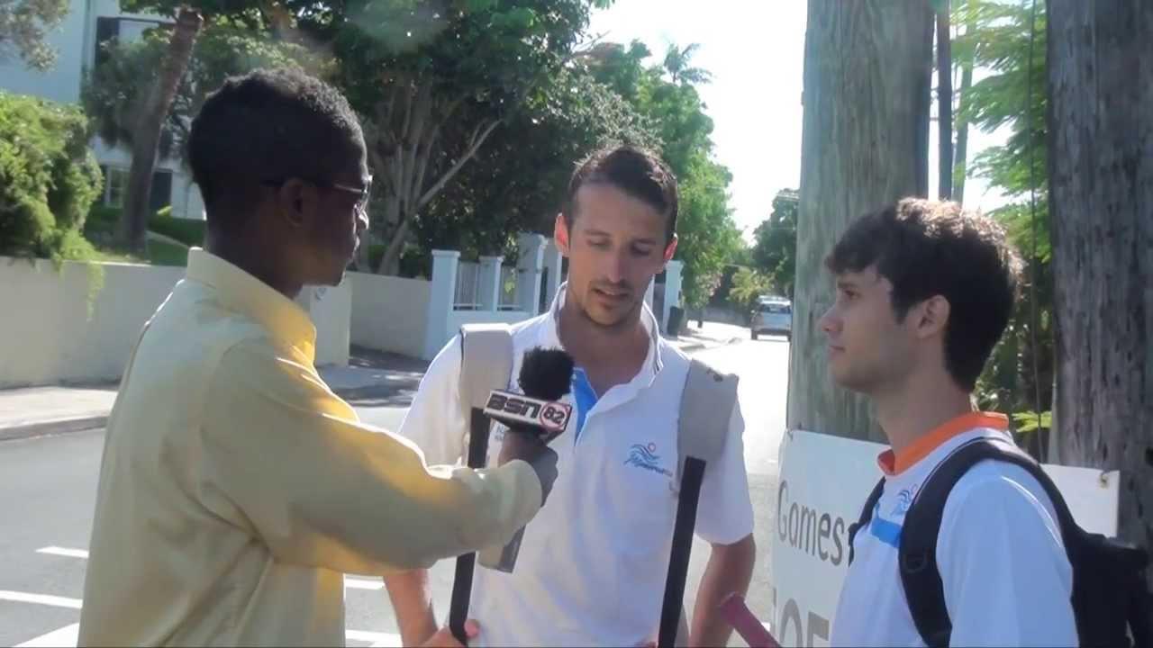 SPORTS NOW!  #Bermuda #IslandGames2013 Interviews @Channel82bda