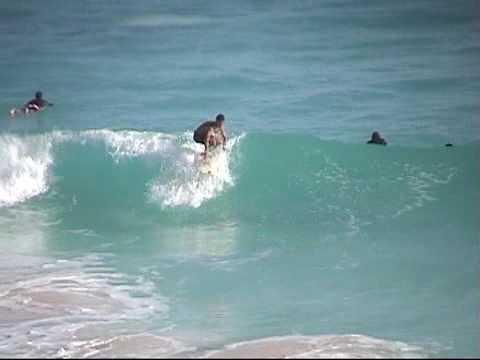 Surfing in Bermuda November 2001