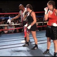Teresa Perozzi vs April Ward - BERMUDA FIGHT NIGHT XIV (March, 2012)