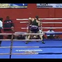 Teresa Perozzi vs Lorissa Rivas - The Fight in 60 seconds  (Dec 30, 2011)