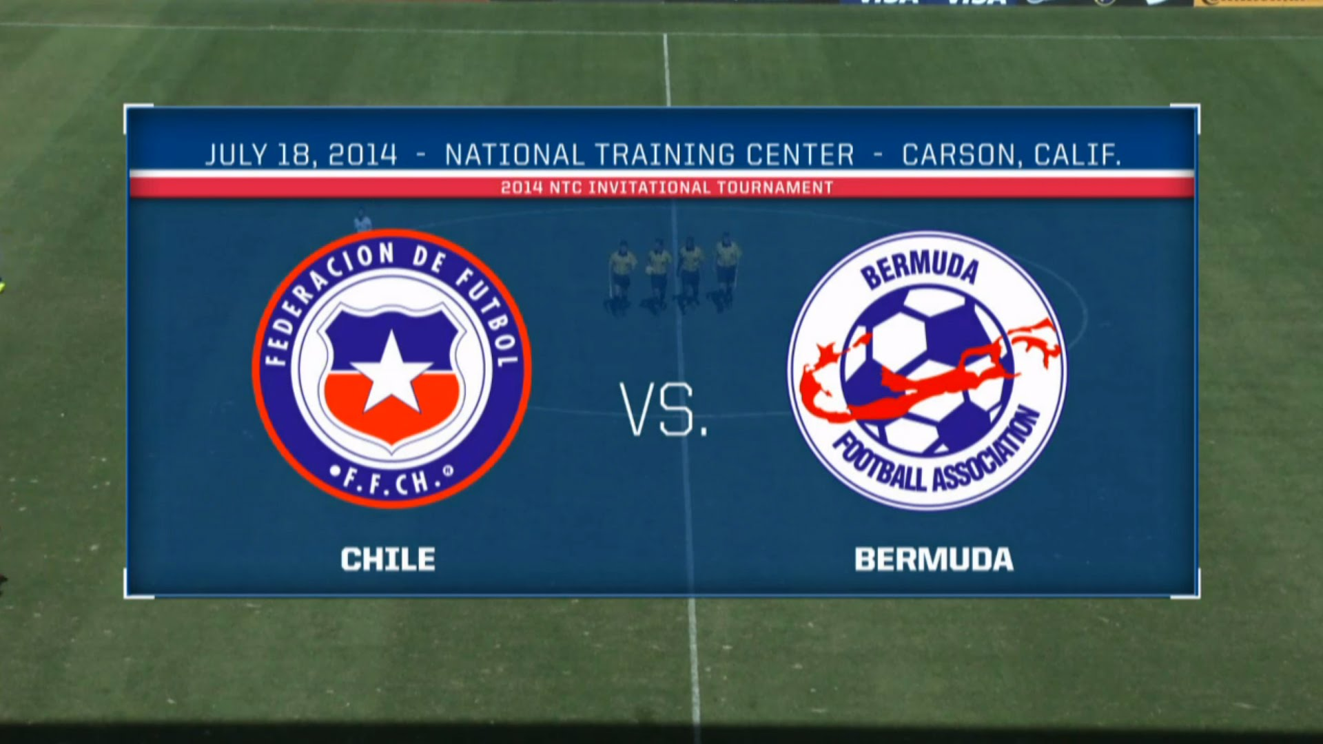U-20 #Bermuda vs. Chile @USSoccer NTC Invitational 2014