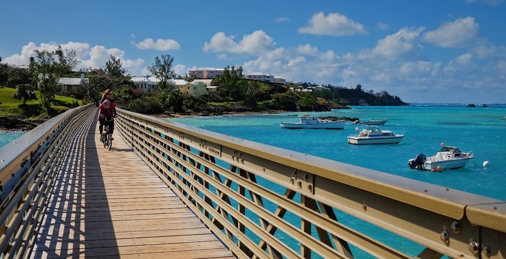 Biking Bermuda s By-places bikabout Photo Essay