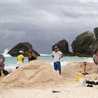 #Bermuda Sand Sculpture Competition  @HookedonBermuda