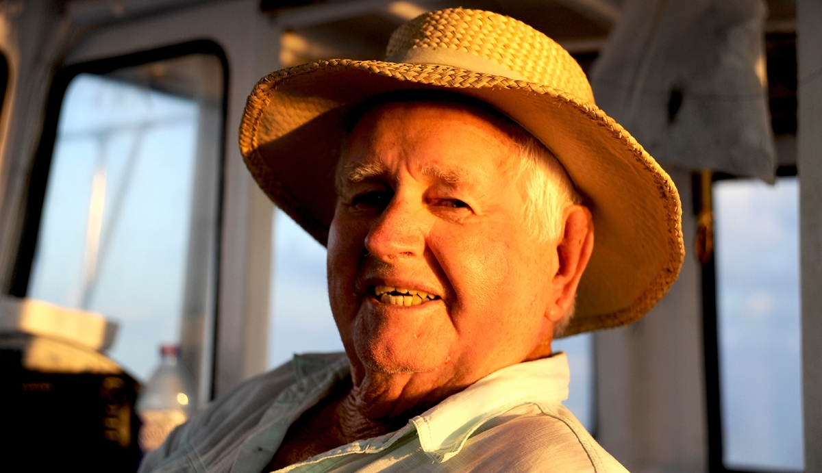 Remembering Teddy Tucker - The Voice of the Sargasso Sea @NatGeo