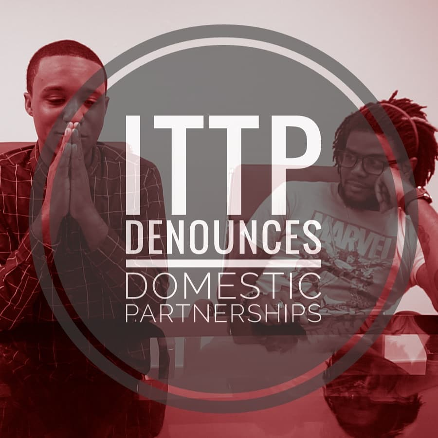 @ITTPbda Denounces Domestic Partnerships in #Bermuda