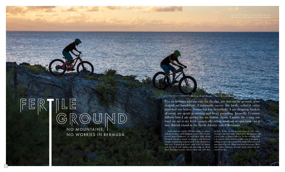 #Bermuda Mountain Biking | SIGMA Blog @Sigma_Photo
