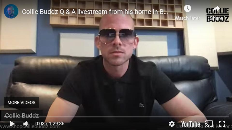 @CollieBuddz – Q&A #Bermuda #livestream @rootfire_intl – Apr 15, 2020