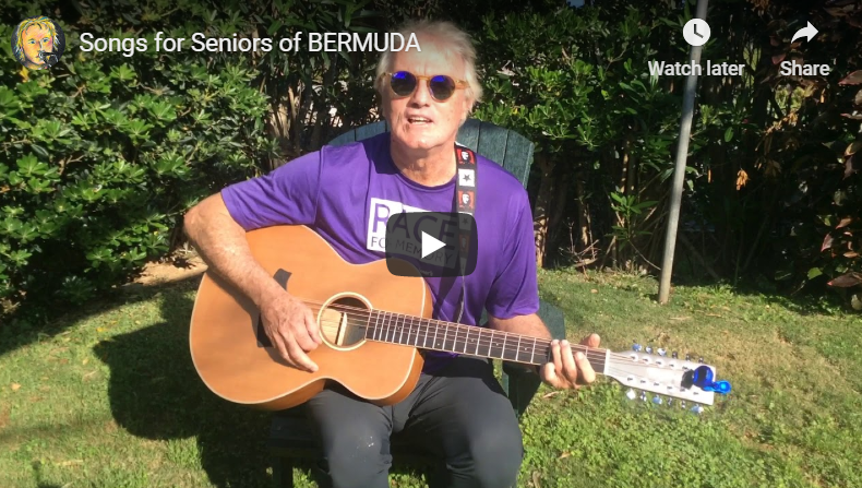 Tony Brannon – Songs for Seniors of #Bermuda @tonyinbermuda @AADBermuda