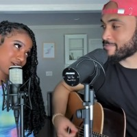 @KaelynKastle @WillGittens - Acoustic Covers - #Iftheworldwasending #stuckwithu
