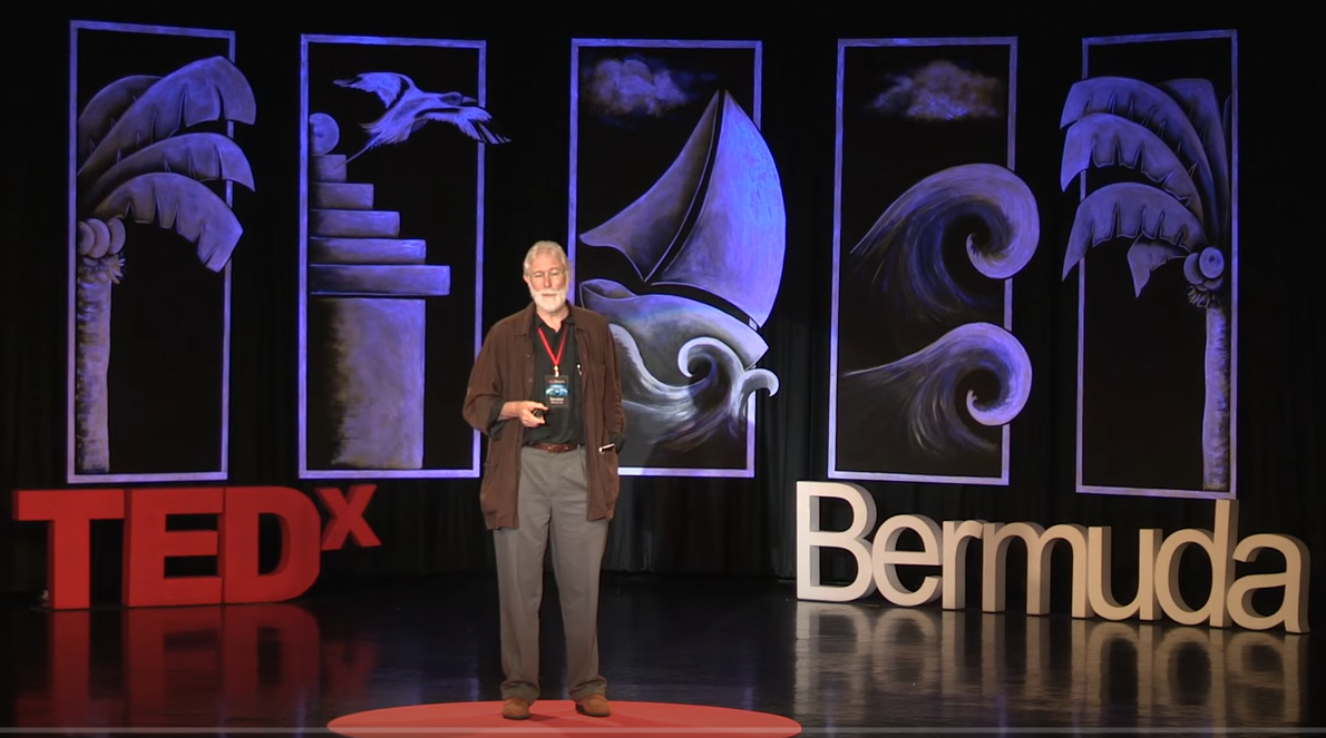 Drawing inspiration from one's environment – Michael K. Frith @TEDxBermuda 2016